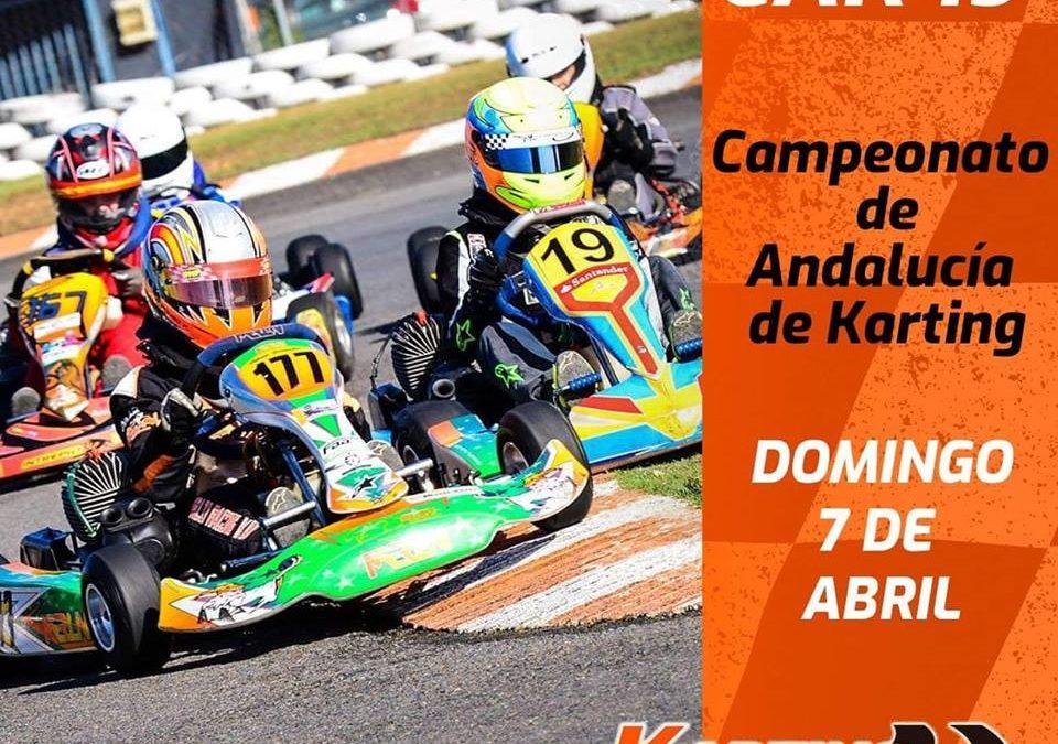 7 de Abril Campeonato de Andalucía de Karting