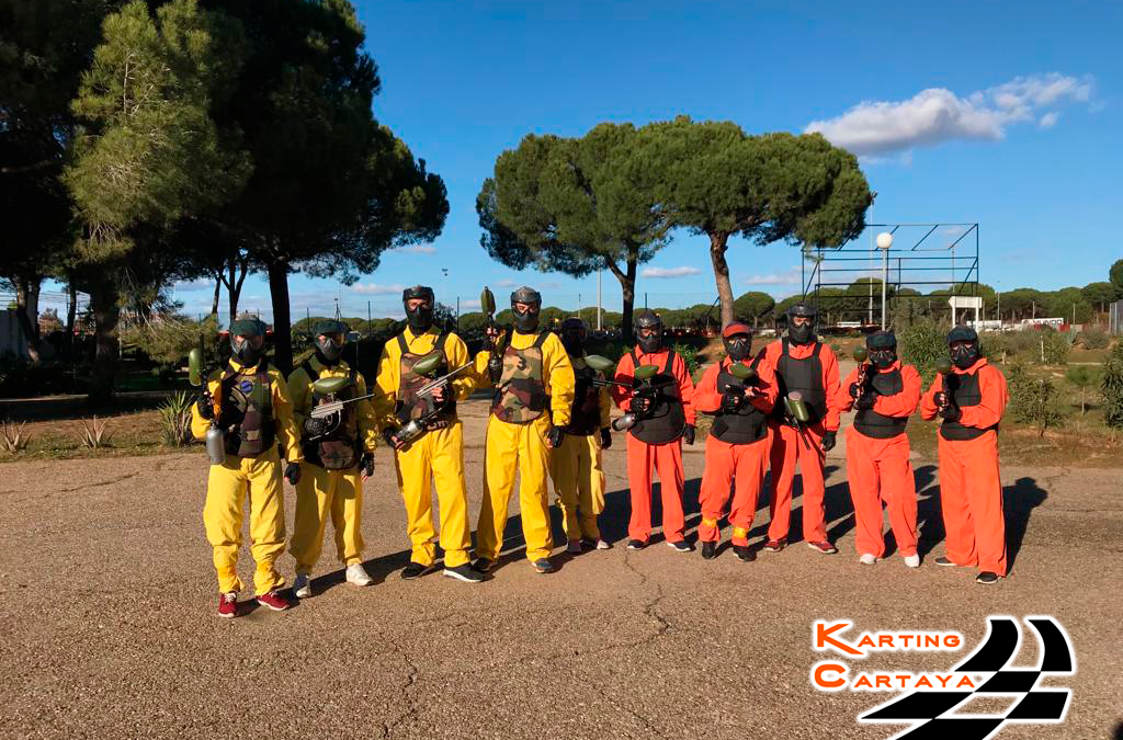 Los Beneficios del Paintball