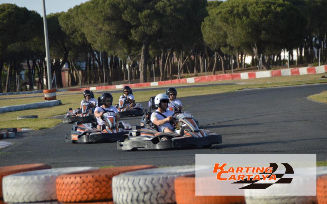 Los tres grandes beneficios del Karting