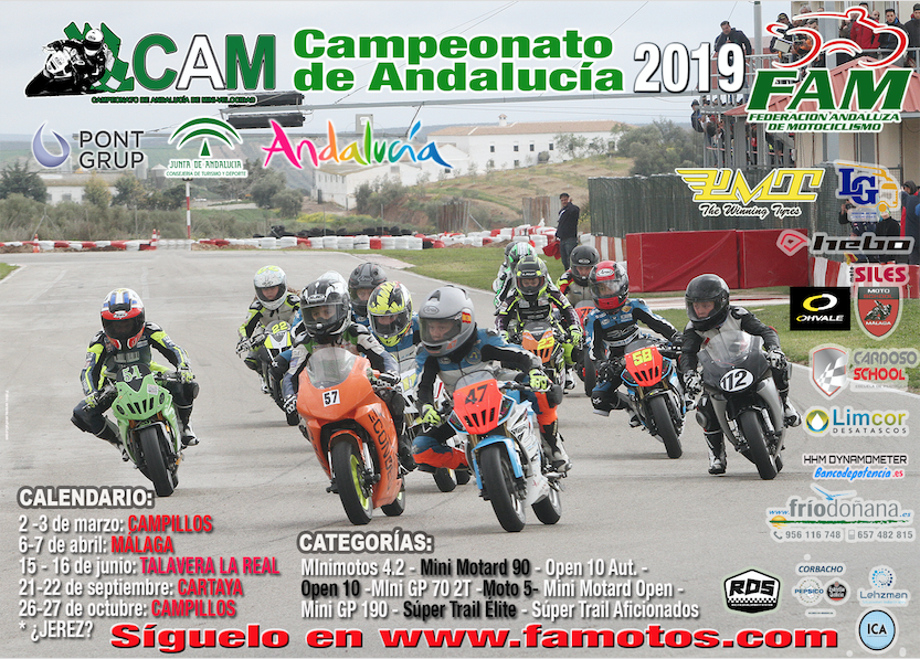 CAM 2019 en Karting Cartaya