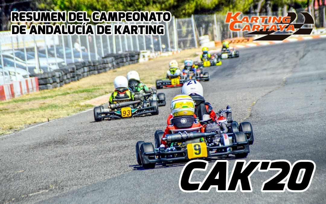 Resumen del Campeonato de Andalucía de Karting 2020 en Karting Cartaya