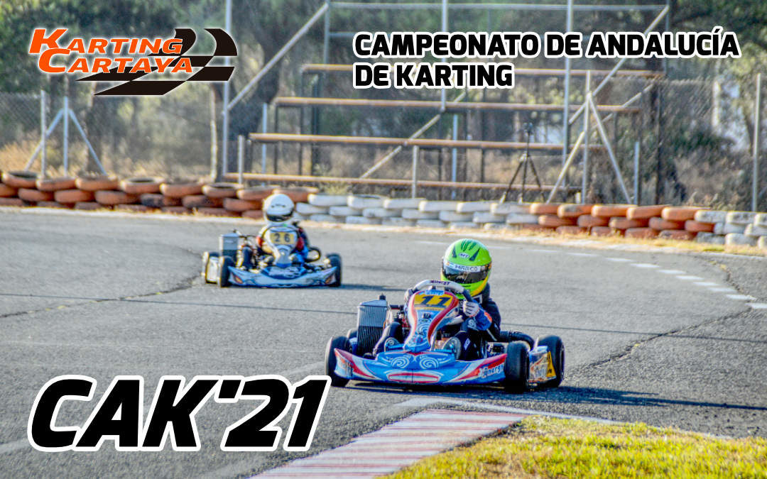 Llega el Campeonato de Andalucía de Karting 2021 a Karting Cartaya