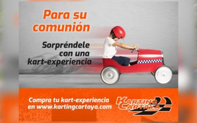 Este 2021 para su comunión, sorpréndele con una experiencia Karting Cartaya