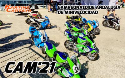 CAM 2021: Campeonato de minivelocidad de Andalucía  en Karting Cartaya
